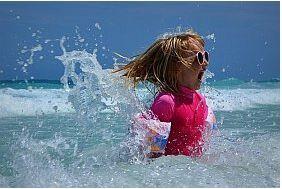 La fraîcheur des vacances à la mer