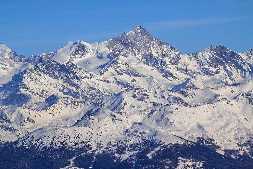 le coeur des Alpes, le toit de l'Europe