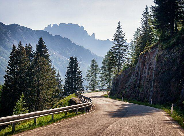 les routes touristiques des Alpes du Sud