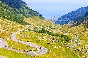 la route des vacances pour Pra Loup