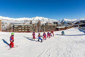 Cours de ski à Pra Loup