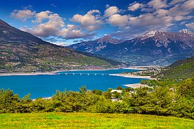 Une journée au lac de Serre-Ponçon