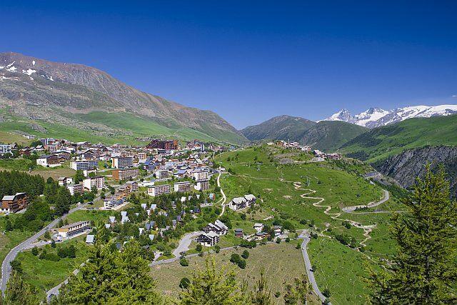 Paysages à l'Alpe d'Huez