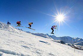 Glisse à l'Alpe d'Huez