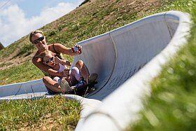Luge d'été à l'Alpe d'Huez