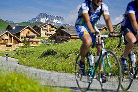 Vélo de route à l'Alpe d'Huez