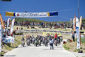 Evénement sportif à l'Alpe d'Huez