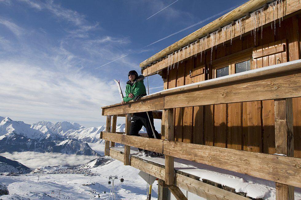 Journée d'hiver à l'Alpe d'Huez