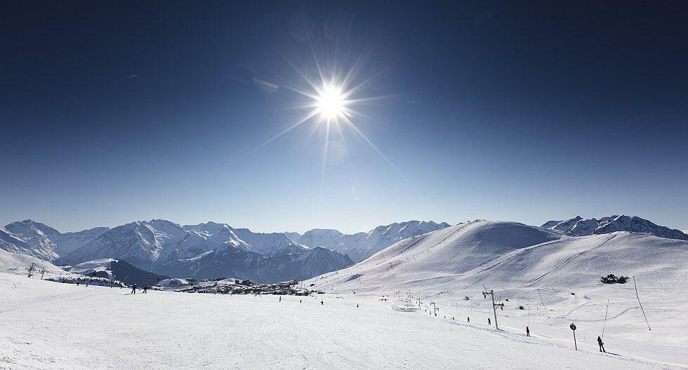 Le grand domaine ski de l'Alpe d'Huez