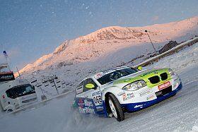 Conduite sur glace à l'Alpe d'Huez