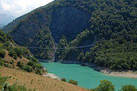 Passerelle du Drac en Isère