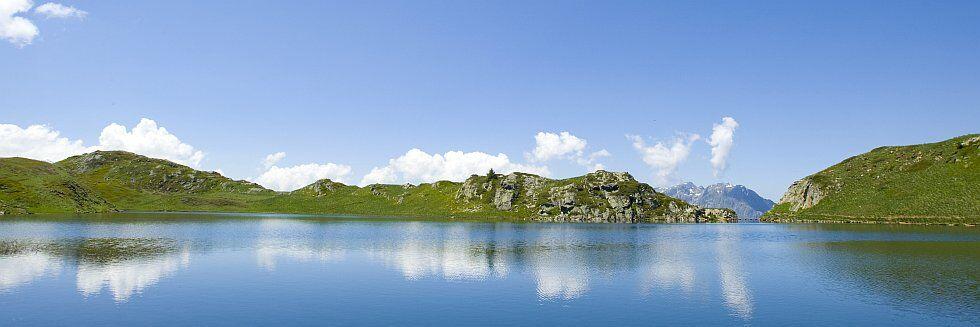 Splendides paysages de l'Alpe d'Huez