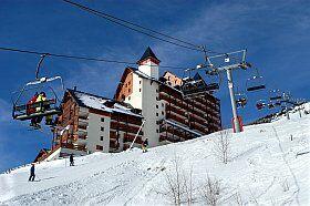 résidence Flocon d'or au pied des pistes aux 2 Alpes