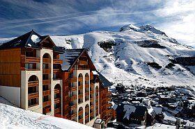 façade Résidence du soleil aux Deux Alpes