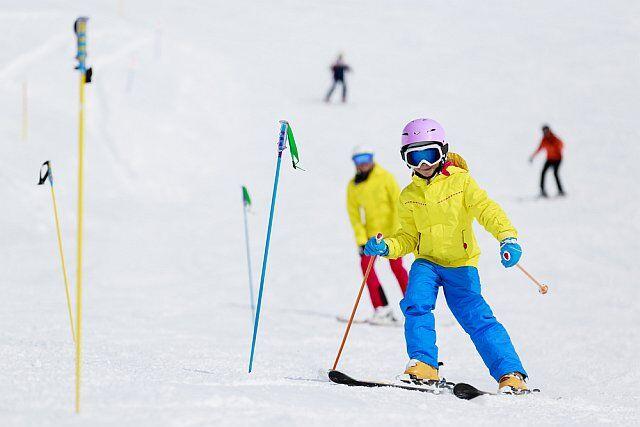 cours de ski enfants en vacances aux 2 alpes