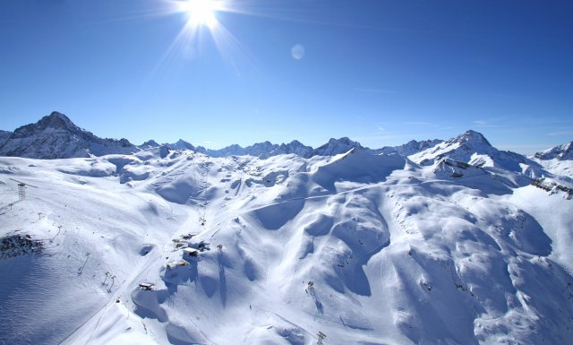 domaine skiable les 2 Alpes