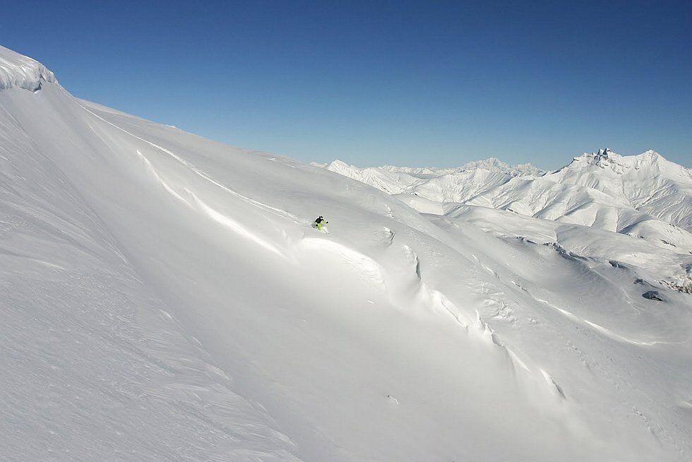 ski freeride Les Deux Alpes