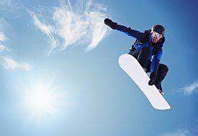 snowboarder Les 2 Alpes