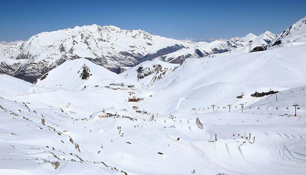 Snowpark Les 2 Alpes en Isère