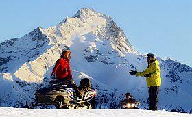 randonnée motoneige Les Deux Alpes