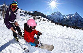 baby snow, activité hiver pour enfants