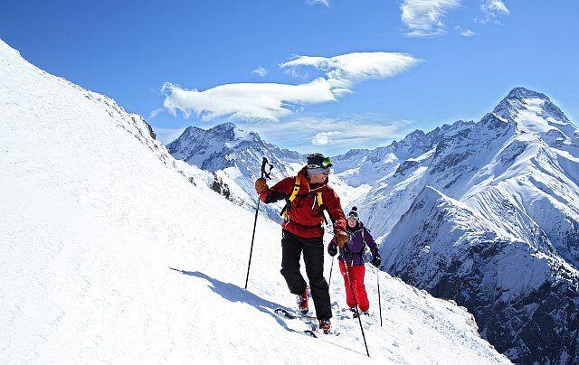 ski de randonnée en vacances aux Deux Alpes