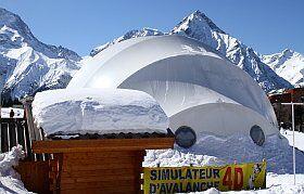simulateur d'avalanche Deux Alpes