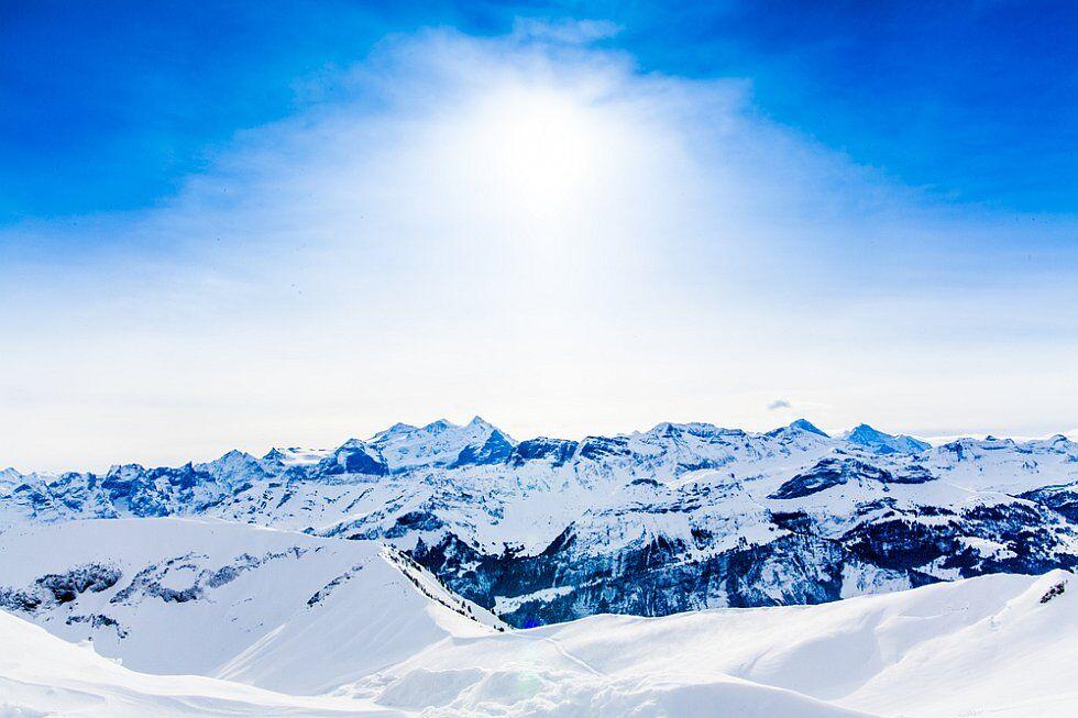 les Deux-Alpes en hiver