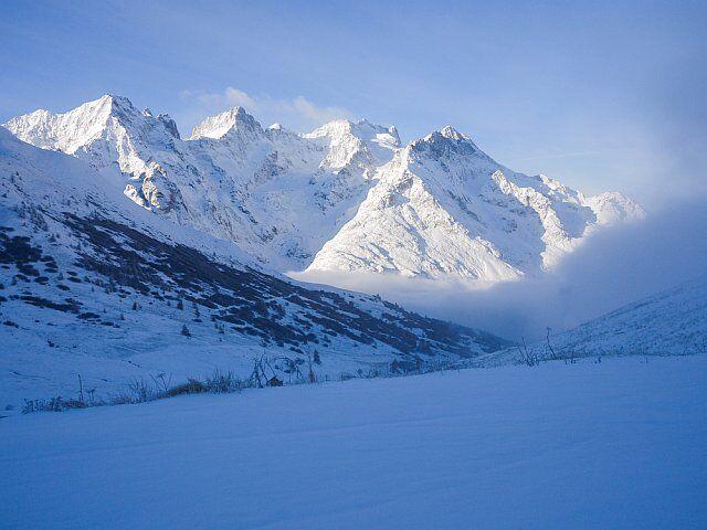 traversée de la Meije en hiver près des 2 Alpes