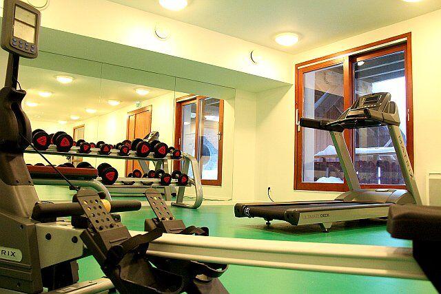 L'espace fitness de la résidence Les Cascades-Les Epinettes