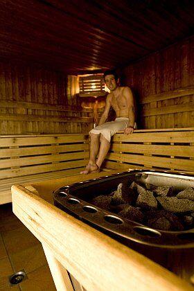 Séance de sauna