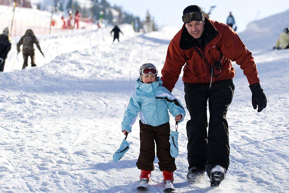 Vaujany : accès au domaine de l'Alpe d'Huez