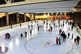 La patinoire de Vaujany