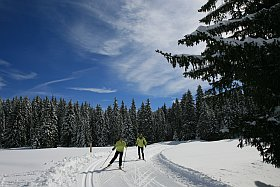 vacances d hiver et ski nordique dans le Vercors