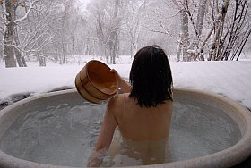 SPA et centre de soins à Autrans en hiver
