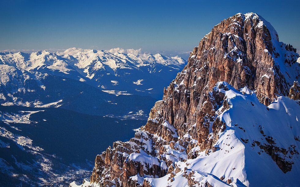 le domaine skiable Les Trois Vallées, Alpes
