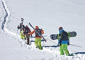 encore plus de ski de rando à Méribel