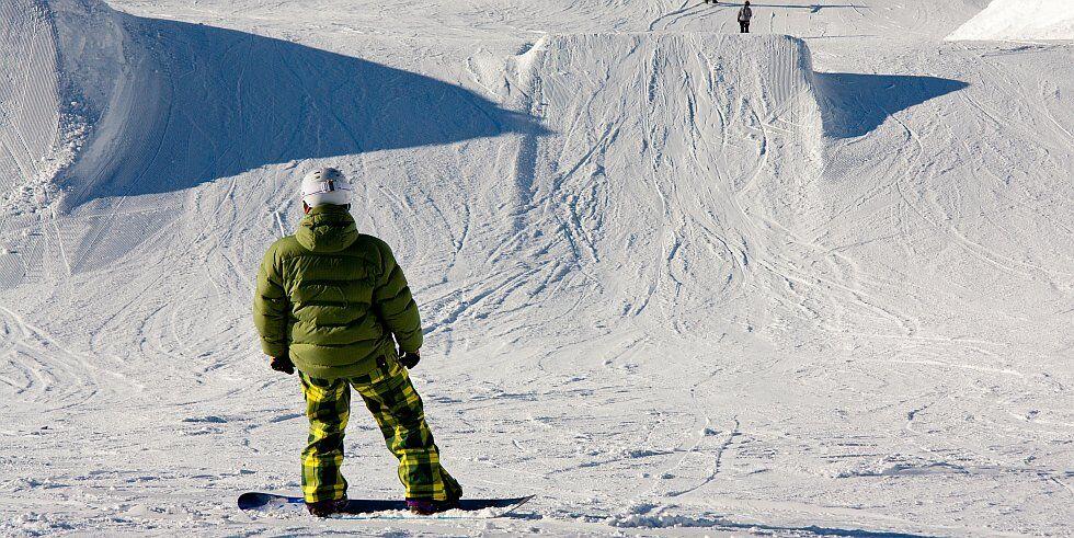 snowparks activité de glisse à Méribel