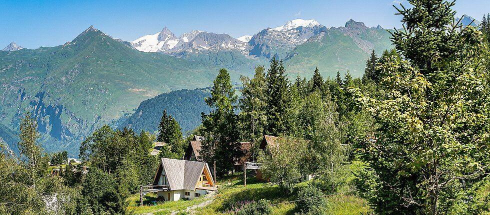 Les Arcs une station des Alpes