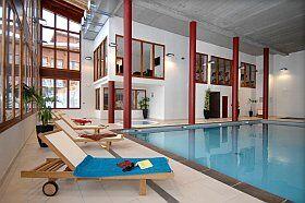 piscine couverte de la résidence Odalys Edenarc