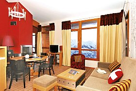 Location vacances aux Arcs :  résidence Edenarc