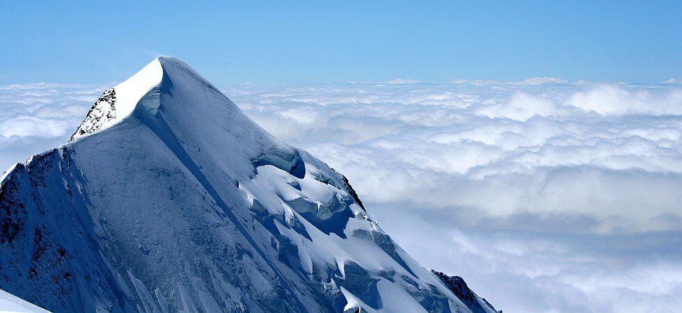 panorama sur le Mont Blanc