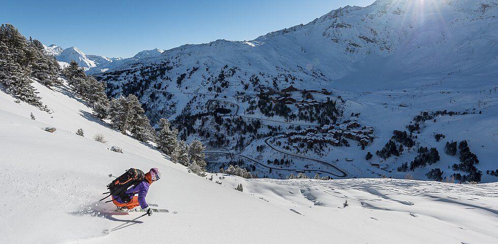 ski alpin en Savoie aux Arcs à Paradiski