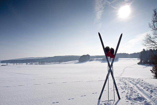 découvrir le ski de fond en vacances aux Arcs