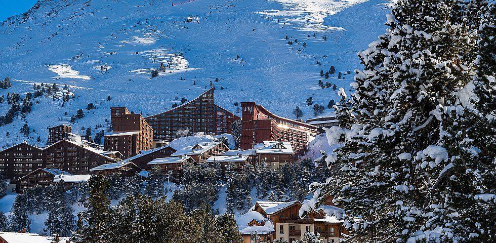 la vallée des Arcs en Savoie