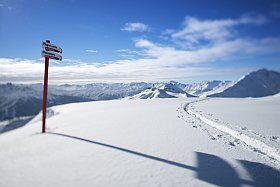 skier au Paradiski à la Plagne