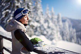 petit déjeuner au ski