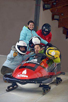 le bobsleigh à la Plagne