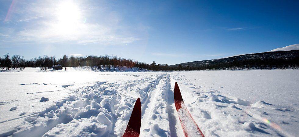 ski de fond ou nordique à la Plagne