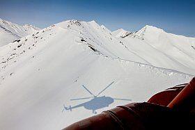 tour en hélicoptère en Savoie